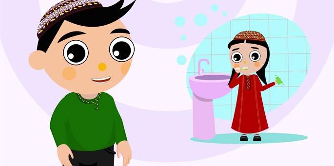 saglyk rolikler, turkmen multfilm, turkmenistan